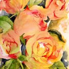 Rose Print Giclee, Watercolor Roses