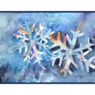 Watercolor Snowflakes Note Cards