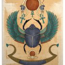 Egyptian Winged Scarab Art Print Wall Decor