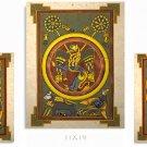 Celtic Book of Kells Art Print Set