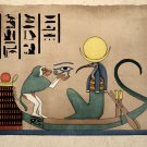 Egyptian Art Print Thoth Ancient God Of Knowledge