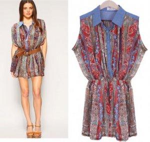 Korean Fashion - Chiffon Dress