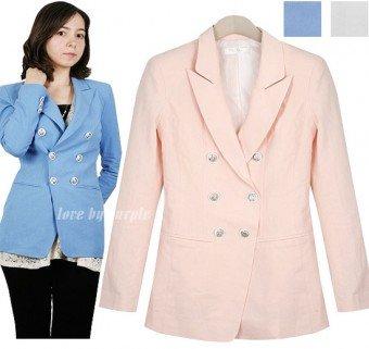 Korean Fashion Online, Hue Linen Jacket,Cute Clothes, Petite Clothing