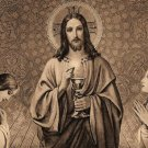 Anima Christi Latin / English Prayer Card PC#197