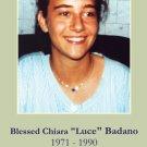Blessed Chiara Badano Prayer Card PC#232