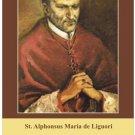 St. Alphonse Ligouri Prayer Card #136