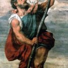 ST. CHRISTOPHER HOLY CARD #114