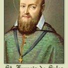St. Frances de Sales Prayer Card #18