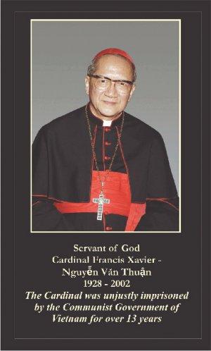 Cardinal Francis-Xavier Nguyen Van Thuan Prayer Card #237
