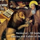 St. Jerome Prayer Card #121