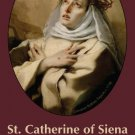 ST CATHERINE OF SIENA PRAYER CARD PC#29