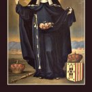 St. Elizabeth of Portugal Prayer Card PC#248