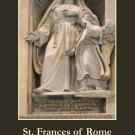 St. Frances of Rome Motorist Safety Prayer Card PC#242