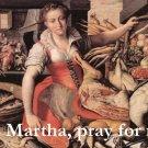 St. Martha Prayer Card PC#257