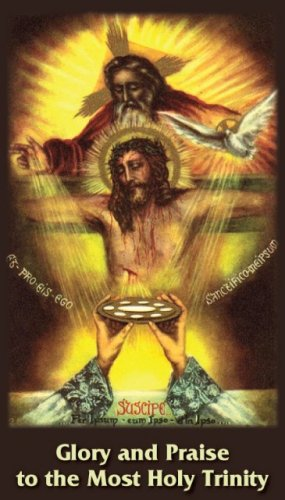 GLORY BE BILINGUAL PRAYER CARD PC#112