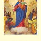 Mary Help of Christians Prayer Card PC#272