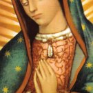 OUR LADY OF GUADALUPE, HELPER OF PREGNANT WOMEN PRAYER CARD PC#9