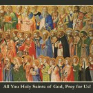 All Saints Day Prayer Card PC#228