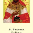 St. Benjamin Prayer Card PC#288