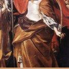 St. Ursula Holy Card PC#307