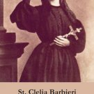 St. Clelia Barbieri Holy Card PC#308