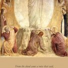 Feast of the Transfiguration Holy Card PC#311