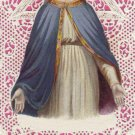 Lovely Lady Dressed in Blue Prayer Card PC#312