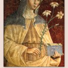 ST. CLARE PRAYER CARD PC#64