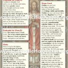 Mass Pew Cards WITH NEW TRANSLATIONS #MC85X55
