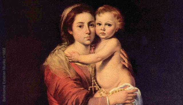 Mysteries of the Rosary **SPANISH** Holy Card #324