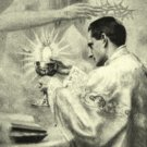 Life of a Priest Holy Card PC#328