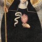 St. Gertrude Prayer Card PC#19