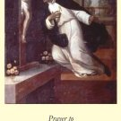 St. Martin de Porres Holy Card PC#338