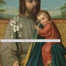 *SPANISH* ST JOSEPH NOVENA PRAYER CARD PC#361