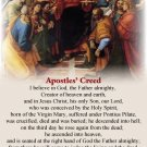 NEW Bilingual Apostles' Creed (WITH UPDATED ENGLISH TRANSLATION) card #360