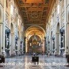 *NEW* St. John Lateran Basilica Holy Card #349