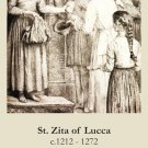 St. Zita Holy Card PC#348