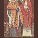 Saints Perpetua and Felicity Holy Card PC#345