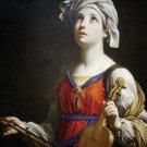 St. Cecilia Holy Card PC#127