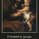 Fathers Prayer Card LARGE PRINT- ENGLISH PC#204L