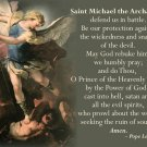 PARISH PEW CARDS - ST. MICHAEL / VOCATIONS PRAYERS AFTER MASS # PC - 474