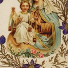*SPANISH* OUR LADY OF MT. CARMEL HOLY CARD PC#446
