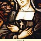 St. Jane Frances de Chantel Holy Card PC#285