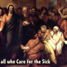 Prayer for All Those Who Care for the Sick, Holy Card PC#482