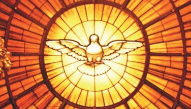 Holy Spirit Prayer Card (LARGE) PC#85L