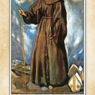 St. Bernardine of Siena Prayer Card #149