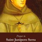 Saint Junipero Serra Holy Card #340