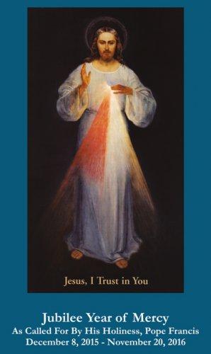 Jubilee Year of Mercy - Divine Mercy Chaplet Prayer Card #YOM-5