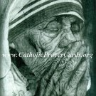 Special Limited Edition Mother Teresa Comemorative Collectors Series Canonization Holy Card