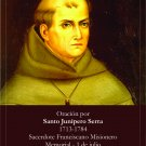 *SPANISH* St. Junipero Serra Prayer Card PC# 528